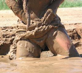 In mud sex Mud orgy
